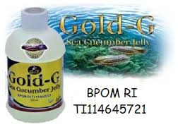 gold-G sea cucumbar